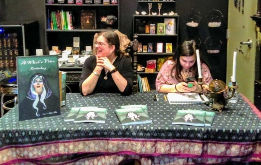 Book signing for A Witch's Voice at Sanctum Folklorica, New Bedford, MA